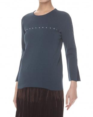 navy blue  POSTILLA Sweater見る