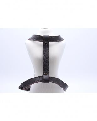 Brown  『max bone』jessie leather harnessS見る