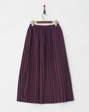 PU プリーツスカート見る