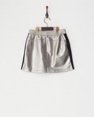 グレー  サイドラインスカート見る