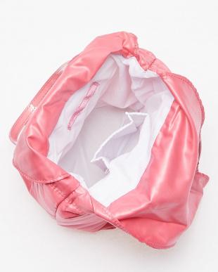 ピンク タフタスパンコールバッグ見る