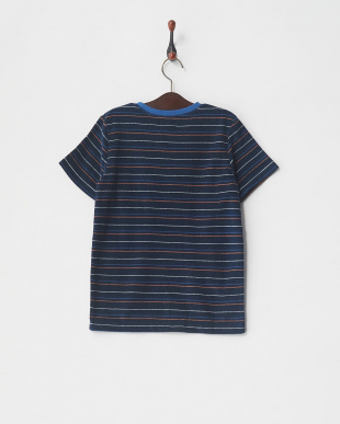 NVY2 STRIPED PILE TEE KIDを見る