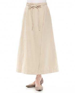 BE Aラインラップ風スカートを見る