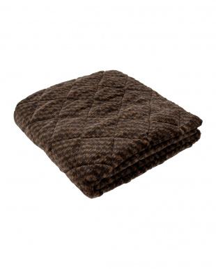 ブラウン 吸湿発熱 あったかふんわり敷きパッド 140×205cm ダブルを見る