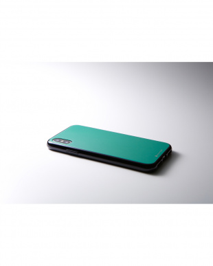 エメラルドグリーン Hybrid Case Etanze for iPhone XR見る