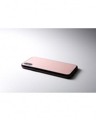 ピンク Hybrid Case Etanze for iPhone XS/X見る