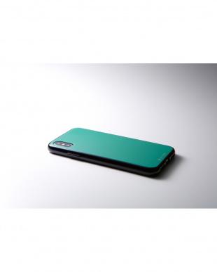 エメラルドグリーン Hybrid Case Etanze for iPhone XS/Xを見る