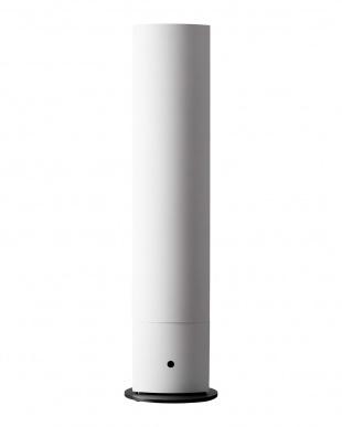 マットホワイト  ハイブリット加湿器タワー見る