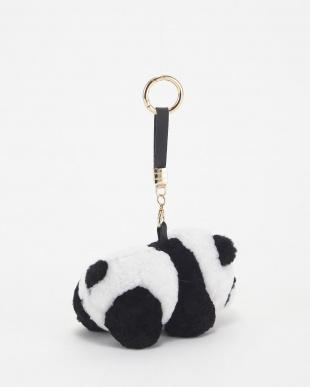 ホワイト  ムートンチャーム(パンダ)│UNISEX見る