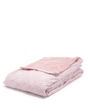 ピンク  掛けふとんカバー見る