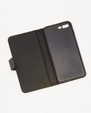 ブラック  ジプセットビーズ ノートタイプ スターダッズ ブラック( iPhone7 plus/8  plus)見る