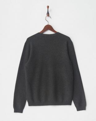 ダークグレー セーターを見る