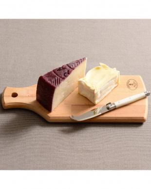 ミルク  ジャンデュボ ライヨール ミニチーズナイフ&ボードセット見る