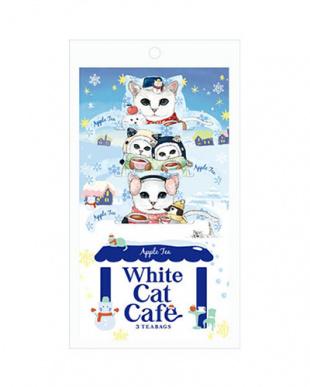 White Cat Cafe ホワイトキャットカフェ(アップルティー) 4個セット見る