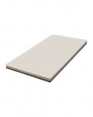 アイボリー K18 ラテックス360 柔らかく包まれるような寝心地の高反発マットレス 厚さ9.5cm セミダブルを見る
