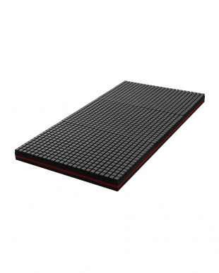 アイボリー K18 3Dブロック 高反発マットレス 4層構造の日本製高通気ウレタン 厚さ10cm シングルを見る