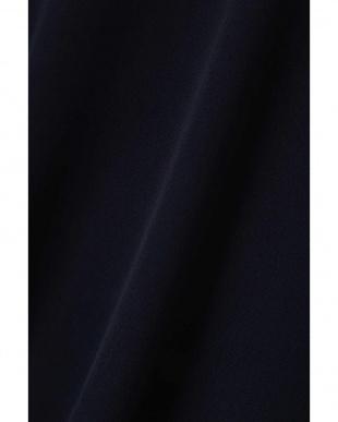 ネイビー |美人百花 10月号掲載|フロントチェーンブラウス ナチュラルビューティB見る