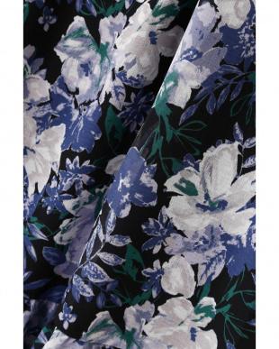 クロベース2 《BLUE》ボタニカルプリントスカート ナチュラルビューティB見る