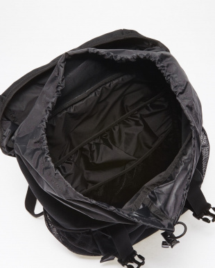 BLACK  BASIC LOGO BACKPACK見る