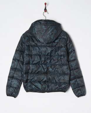 BLUE/BLACK GEOMETRIC CAMO Blouson見る