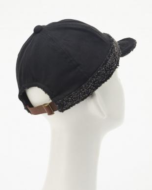 ブラック スウェード×ボアベースボールキャップ(SUEDE×BOA BB CAP)見る