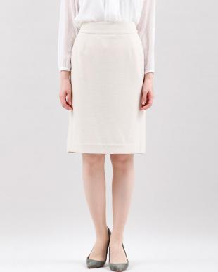 ベージュ2 ウォッシャブルタイトスカート CLEAR IMPRESSION見る