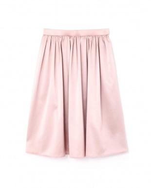 ピンク3  トリアセエンボススカート NATURAL BEAUTY見る