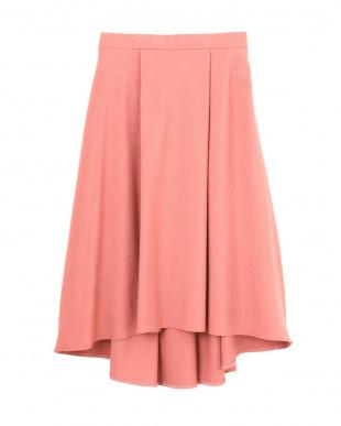 ピンク 《Purpose》レニーフィッシュテールスカート NATURAL BEAUTY見る