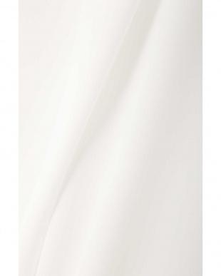 ホワイト [洗える]ノルディス2WAYジョーゼットブラウス NATURAL BEAUTY見る