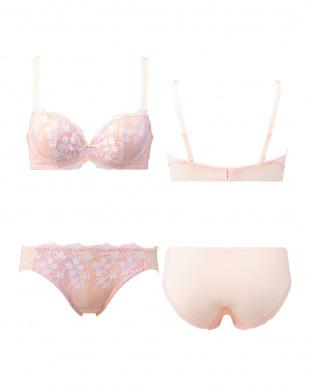 ピンク AMST1168 WHU + Hikini チャーミングラマーPremium ブラ&ショーツセット見る
