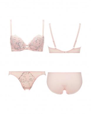 ピンク AMSTDR036 WHU + Mini Dress036 ブラ&ショーツセット見る
