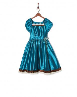 ブルー  ガーデニアドレス見る