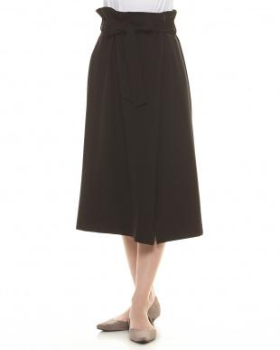 BLACK ラップタイトスカート見る