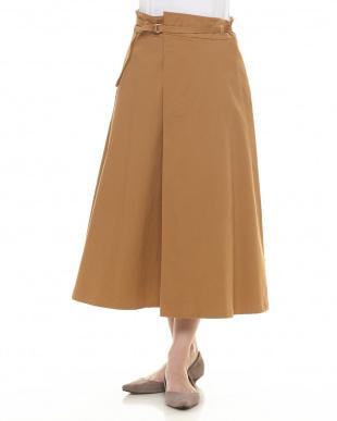 CAMEL  Dカンベルトラップ風フレアースカート見る