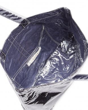 ネイビー×ブルー バッグ見る