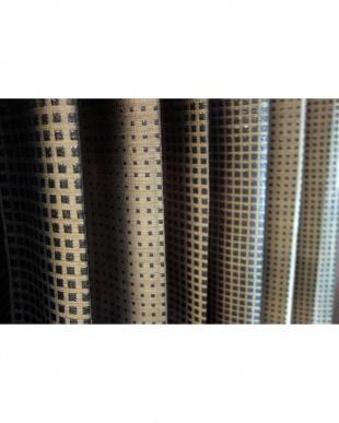 ブラウン  DOLCEドレープカーテン 200cm(幅)×220cm(丈)見る
