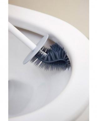 ホワイト PlaTawa for Toilet ケース付きトイレ用ブラシを見る