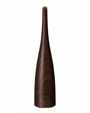 ダークウッド  ハイブリッド式 スリムタワー加湿器「レジーナ」見る