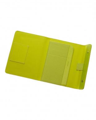 ライムグリーン サフィアーノラップ タブレットケース スモールサイズを見る