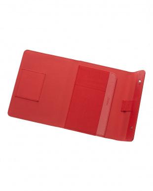 レッド サフィアーノラップ タブレットケース スモールサイズを見る