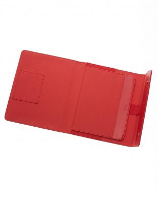 レッド ラージ サフィアーノ ラップTC タブレットケースを見る
