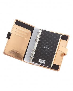 ローズゴールド サフィアーノ システム手帳 バイブルサイズを見る