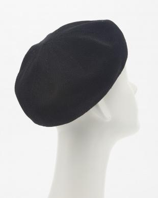 Black ペーパーベレー帽2見る