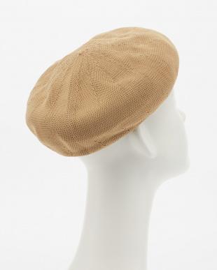 Beige ペーパーベレー帽2見る