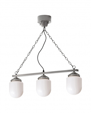 【Limited Special Price】COARSE MILK GLASS 3 BULB PENDANT LAMPを見る