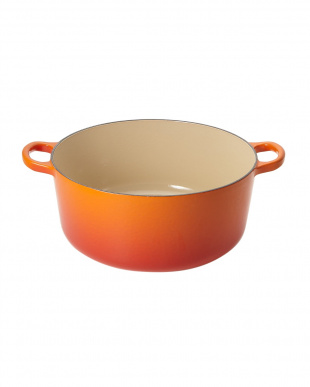 Orange  ココット・ロンド 26cm オレンジ見る