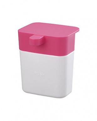 ピンク シンクのディスペンサー+スポンジポケット セットを見る