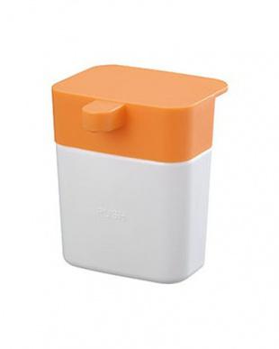 オレンジ シンクのディスペンサー+スポンジポケット セットを見る