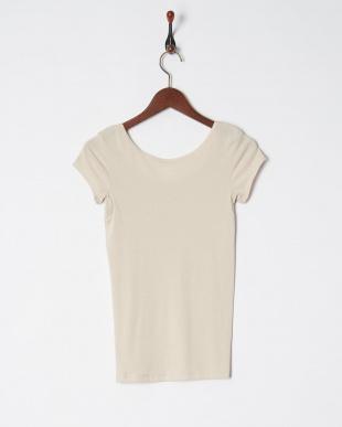 サンドベージュ UVケア 吸水速乾 綿混 1分袖シャツを見る