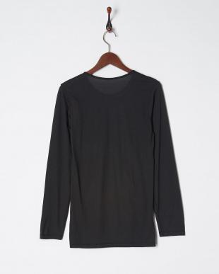 ブラック 吸湿発熱極薄HEAT EDIT クルーネック長袖シャツを見る